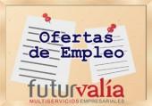 Boletín quincenal de Ofertas de Empleo de FUTURVALÍA. 2ª quincena febrero 2018